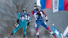 В этом сезоне россиянам пока не удается обойти звездных соперников. У мужчин вне конкуренции Мартен ФУРКАД (слева, с Эмилем Хегле СВЕНДСЕНОМ) и Йоханнес Бе.