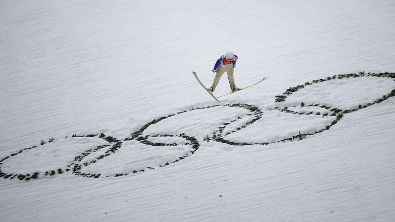 В Сочи россияне стартовали во всех видах двоеборья. Фото REUTERS