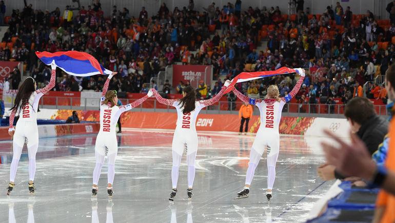 С учетом сита МОК у россиян, похоже, не останется претендентов на медали среди конькобежцев. Фото Александр ФЕДОРОВ, «СЭ»