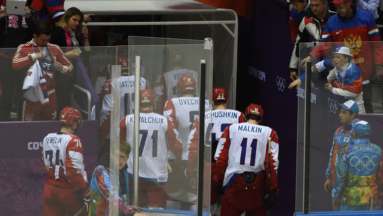 После Сочи-2014 хоккей оставил занозу в сердце. Фото Александр ФЕДОРОВ, «СЭ»