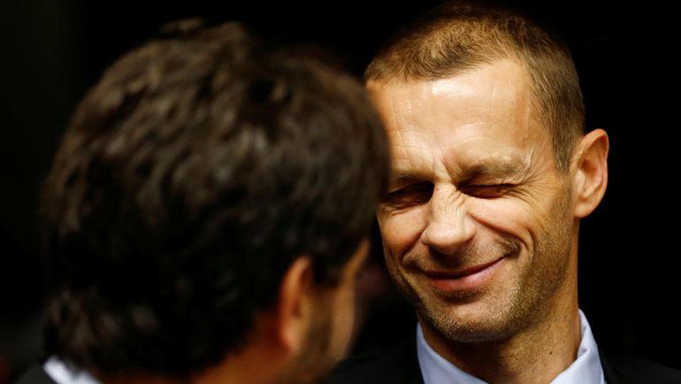 Глава УЕФА Александер ЧЕФЕРИН. Фото REUTERS