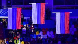 Болельщики могут проносить российские флаги на трибуны во время Игр-2018.