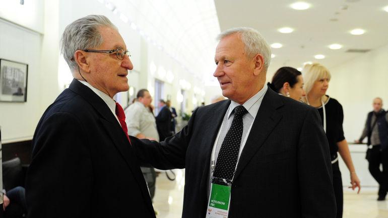 2016 год. Алексей Парамонов и Вячеслав Колосков