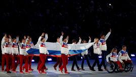 На данный момент с учетом позиции МПК паралимпийцев России не ждут на Играх-2018 - ни с флагом, ни без.