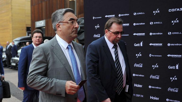 Леонид ВАЙСФЕЛЬД (слева). Фото Алексей ИВАНОВ