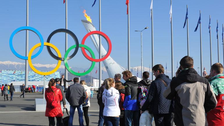 """Олимпийский парк в Сочи. Фото Александр ФЕДОРОВ, """"СЭ"""""""