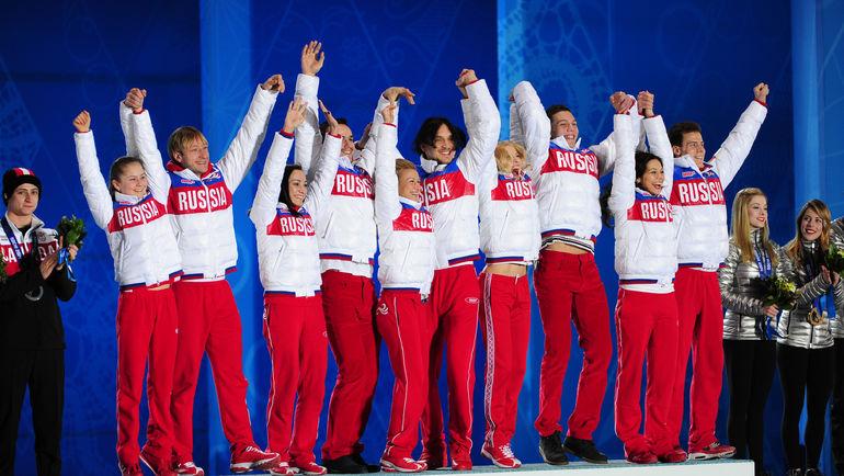 """Провести российскую версию награждения наши спортсмены в Пхенчхане публично не смогут. Фото Александр ФЕДОРОВ, """"СЭ"""""""