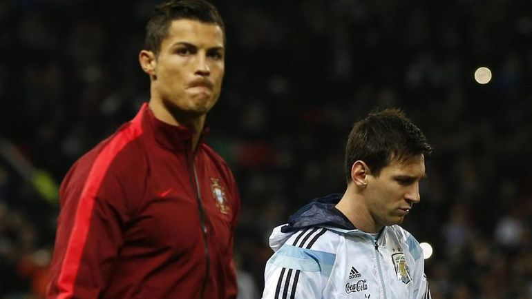 КРИШТИАНУ РОНАЛДУ вместе со сборной Португалии будет базироваться в Кратове, а Лионель МЕССИ с Аргентиной - в Бронницах. Фото REUTERS