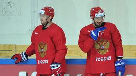 Сергей МОЗЯКИН (слева) и Вячеслав ВОЙНОВ - в олимпийской заявки сборной России.