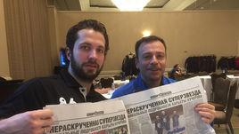 Игорь РАБИНЕР (справа) и Никита КУЧЕРОВ в Тампе.