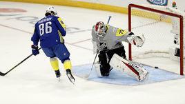 Воскресенье. Тампа. Никита КУЧЕРОВ оформил хет-трик в Матче звезд НХЛ.