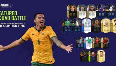 Месси, Анри и Роналду - в составе Тима Кэйхилла в FIFA 18