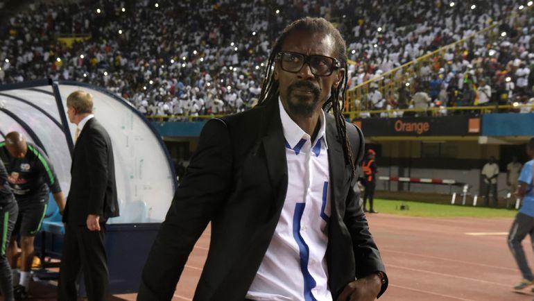 Главный тренер сборной Сенегала Алиу СИССЕ. Фото AFP