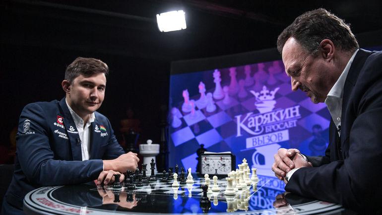 Сергей КАРЯКИН vs Виктор ГУСЕВ. Фото Дарья ИСАЕВА, «СЭ»