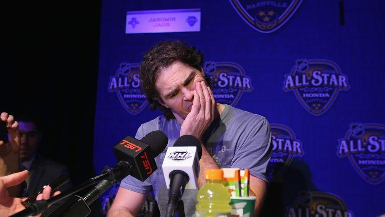 Яромир ЯГР на Матче звезд НХЛ-2016. Фото AFP