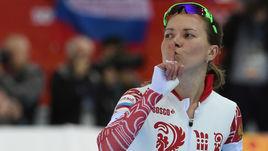 Бронзовый призер Олимпиады-2014 в Сочи Ольга ГРАФ.