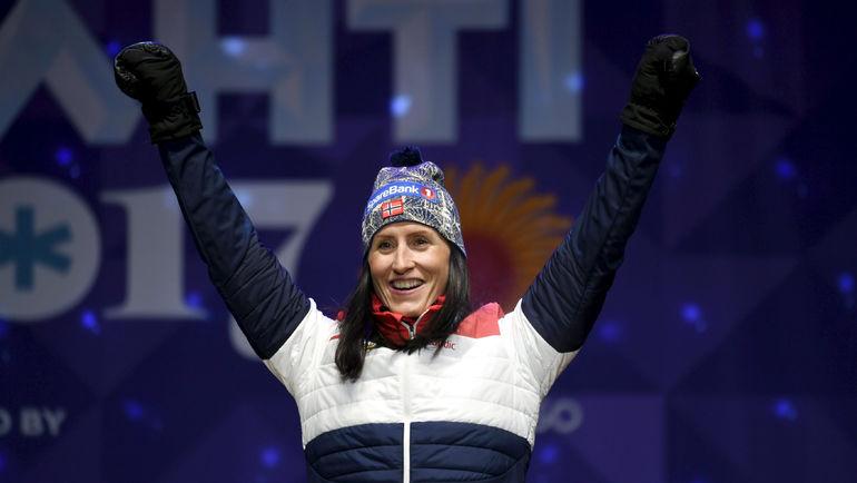 Марит БЬОРГЕН. Фото Reuters