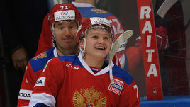 Сегодня. Москва. Россия - Белоруссия - 3:0. Илья КОВАЛЬЧУК и Кирилл КАПРИЗОВ.