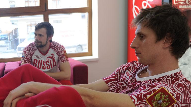 Сергей ЧУДИНОВ (справа). Фото Федор УСПЕНСКИЙ, «СЭ»