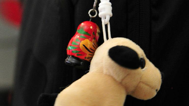 """Рюкзак без надписи, но с матрешкой. Фото Федор УСПЕНСКИЙ, """"СЭ"""""""