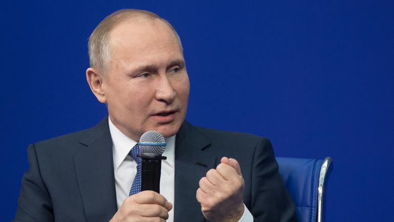 Владимир ПУТИН. Фото Сергей ГУНЕЕВ/РИА Новости