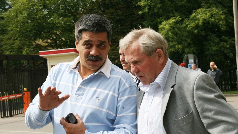 2006 год. Игорь Шабдурасулов и Борис Майоров