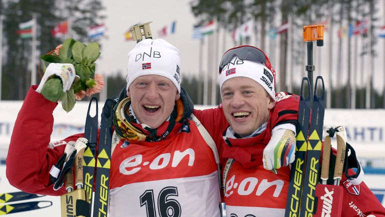 Йоханнес (слева) и Тарьей БЕ. Фото REUTERS