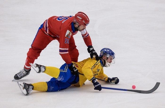Россия обыграла Швецию в финале чемпионата мира. Фото Rusbandy.ru