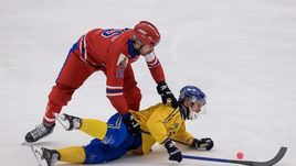 Россия обыграла Швецию в финале чемпионата мира.