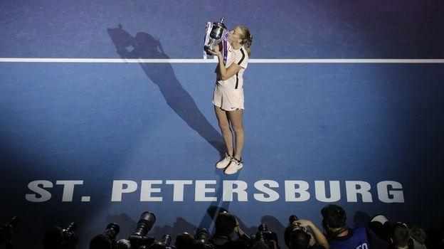 Вот почему Квитова рвалась в Петербург