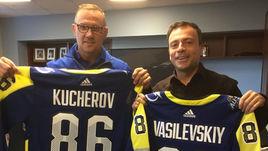 Стив АЙЗЕРМАН (слева) и Игорь РАБИНЕР.
