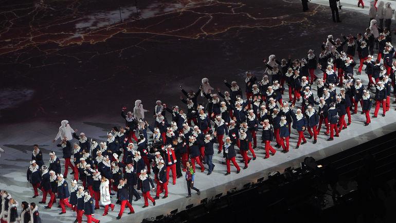 7 февраля 2014 года. Сочи. Церемония открытия Олимпиады. Фото Федор УСПЕНСКИЙ, «СЭ»