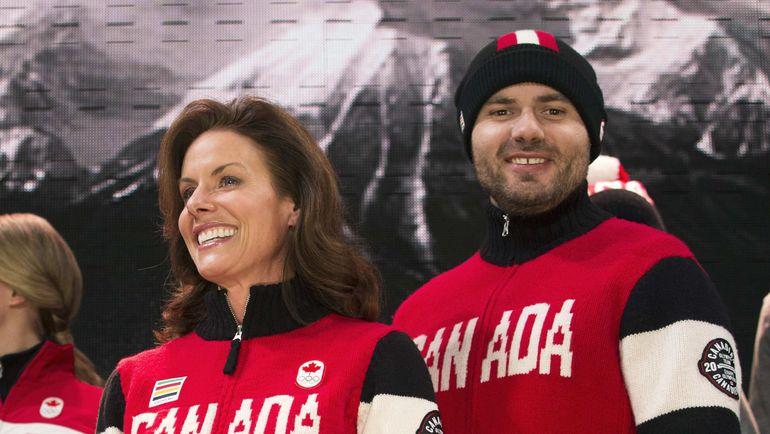 Шерил БЕРНАР, Канада (слева). Фото Reuters
