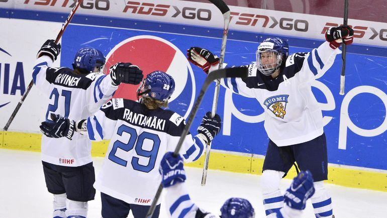 Ханна-Риикка ВЯЛИЛЯ, Финляндия (справа). Фото Reuters
