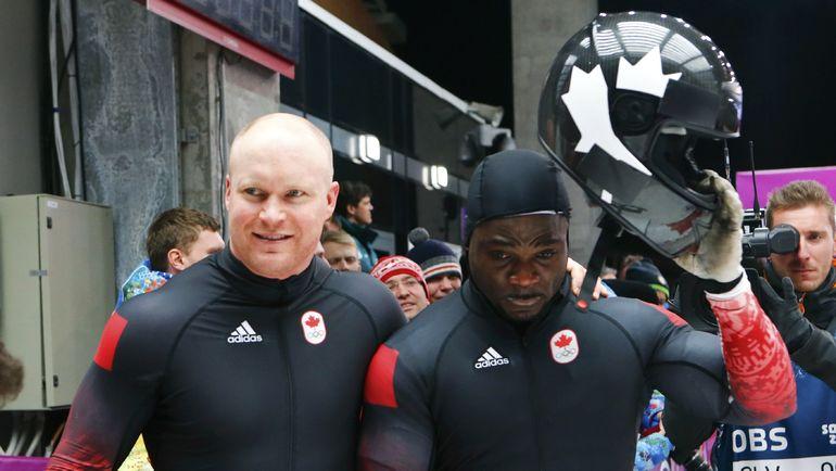 Ласель БРАУН, Ямайка/Монако/Канада (справа). Фото Reuters