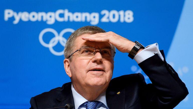 Глава МОК Томас БАХ. Фото AFP