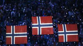 AP отдает Норвегии безгоровочное первое место в общем зачете Олимпиады.