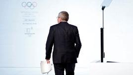 Вчера. Пхенчхан. Томас БАХ перед началом 132-й сессии МОК.