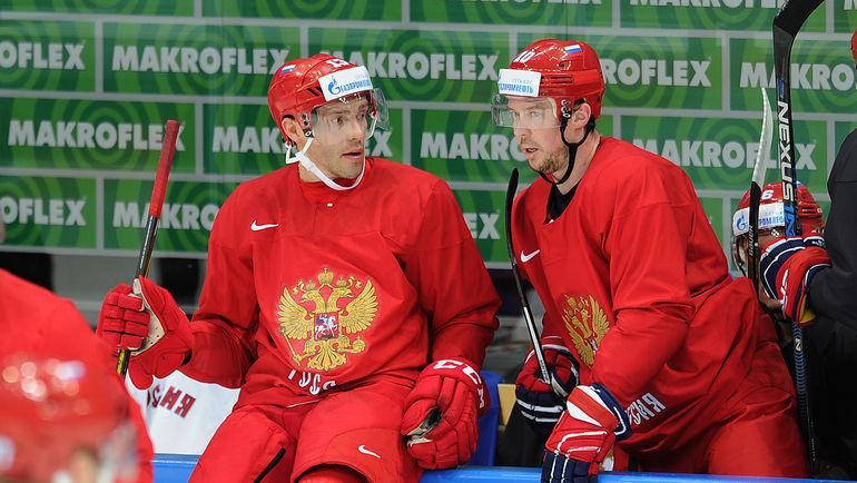 Павел ДАЦЮК и Сергей МОЗЯКИН. Фото Алексей ИВАНОВ
