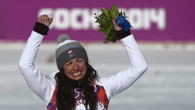Юстина КОВАЛЬЧИК. Фото AFP