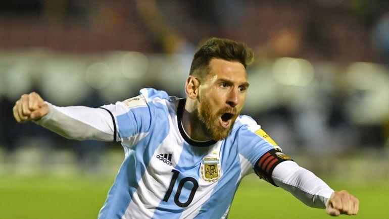 Капитан сборной Аргентины Лионель МЕССИ. Фото AFP