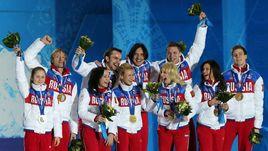 В Сочи-2014 сборная России выиграла первый в истории командный турнир по фигурному катанию.