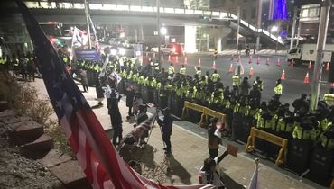 Беспорядки из-за США и КНДР у Олимпийского парка!