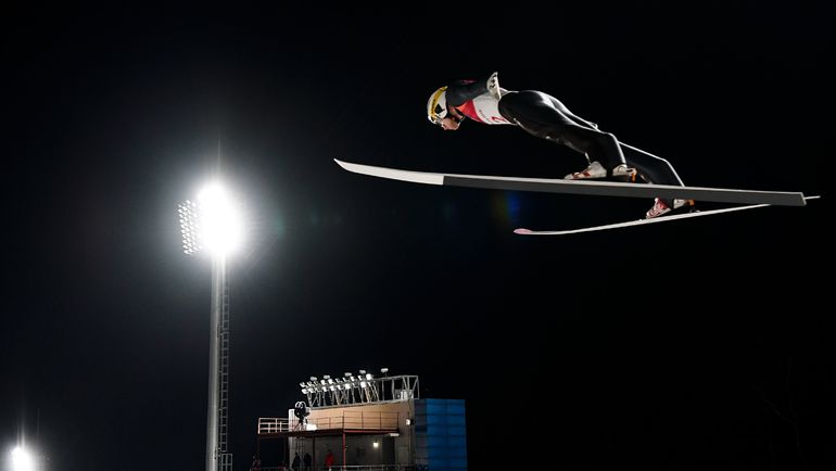 Сегодня. Пхенчхан. Евгений КЛИМОВ показал 12-й результат. Фото AFP