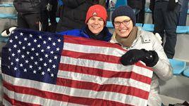 Россиянка Елена и ее американский друг Гарет.