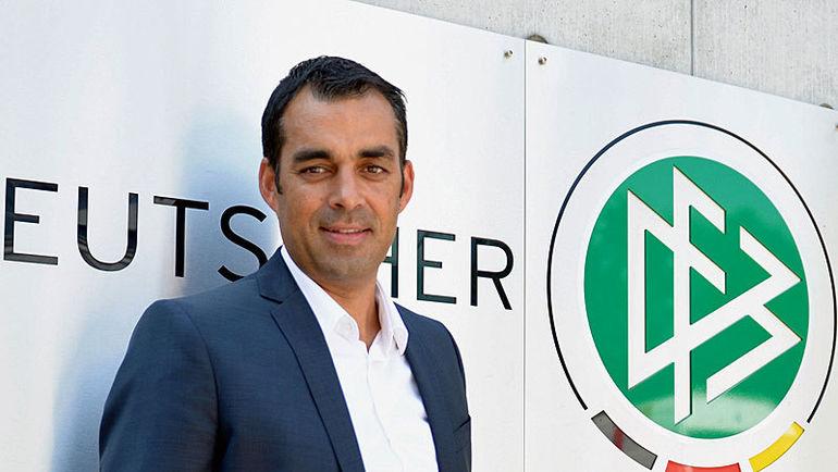Спортивный директор DFB Робин Датт. Фото dfb.de