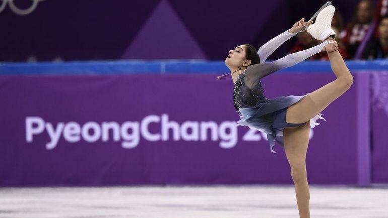 Воскресенье. Каннын. Евгения МЕДВЕДЕВА установила рекорд по итогам выступления в короткой программе. Фото Reuters