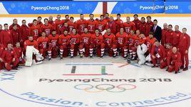 Форма сборной России по хоккею на Олимпиаде-2018.