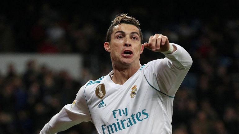 "Суббота. Мадрид. ""Реал"" - ""Реал Сосьедад"" – 5:2. КРИШТИАНУ РОНАЛДУ. Фото REUTERS"