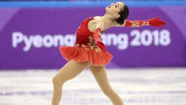 Алина ЗАГИТОВА - серебряный призер Олимпиады в Пхенчхане.